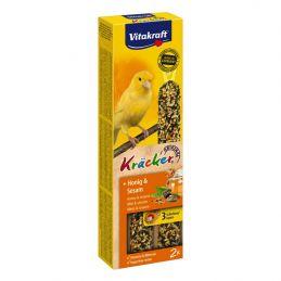 Vitakraft Kräcker Canaris miel & sésame x2 VITAKRAFT VITOBEL 4008239212474 Canaris