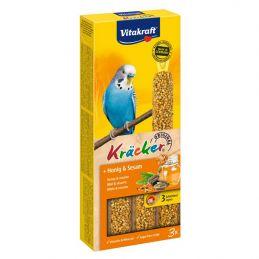 Vitakraft Kräcker Perruches au miel & au sésame VITAKRAFT VITOBEL 4008239212436 Perruche