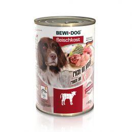 Boîte Bewi Dog Veau BEWI DOG  Paté pour chien