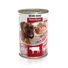 Boîte Bewi Dog Panse de boeuf BEWI DOG  Paté pour chien