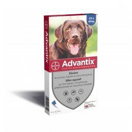Advantix antiparasitaire chien 25-40kg ADVANTIX  Pipettes