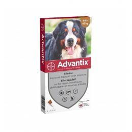 Advantix antiparasitaire chien 40kg et plus ADVANTIX 4007221048558 Pipettes