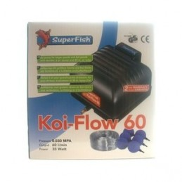 SuperFish Koi Flow 60 SUPERFISH 8715897158810 Pompe de filtre et jet d'eau