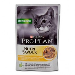 Terrine pour Chat ProPlan Sterilised au poulet