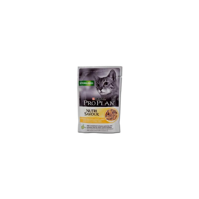 Terrine pour Chat ProPlan Sterilised au poulet PRO PLAN 7613034588265 Boîtes, sachets pour chats