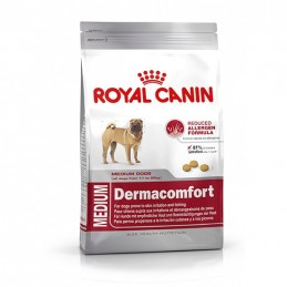 Royal Canin Medium Dermacomfort 3 kg ROYAL CANIN 3182550773829 Croquettes Royal Canin