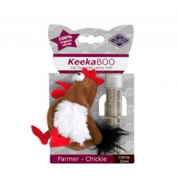 Jouet pour chat D&D KeekaBOO Farmer-Chickie EUROPET 4047059427552 Jouets divers