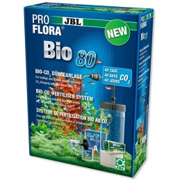 Kit Co2 pour Aquarium JBL ProFlora Bio 80 JBL 4014162644480 Système CO2, UV-C