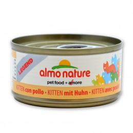 Terrine pour Chat Almo Nature Legend Kitten avec Poulet lot de 6 ALMO NATURE 8001154007725 Boîtes, sachets pour chats