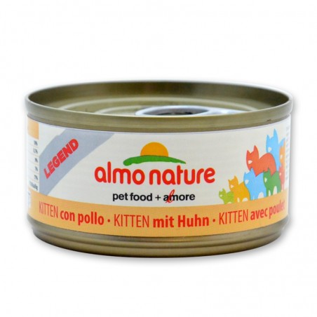 Terrine pour Chat Almo Nature Legend Kitten avec Poulet lot de 6