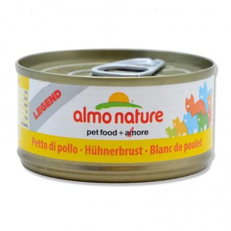 Terrine pour Chat Almo Nature Legend Blanc de Poulet lot de 6