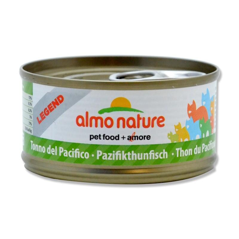 Terrine pour Chat Almo Nature Legend Thon du Pacifique lot de 6 ALMO NATURE 8001154007640 Boîtes, sachets pour chats