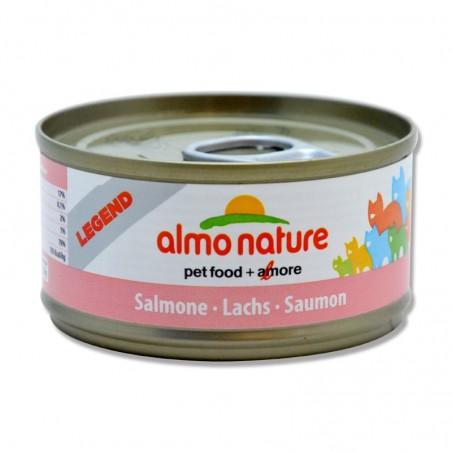 Terrine pour Chat Almo Nature Legend Saumon lot de 6