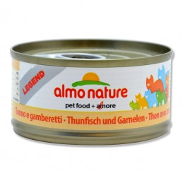 Terrine pour Chat Almo Nature Legend Thon & Crevettes lot de 6 ALMO NATURE 8001154007572 Boîtes, sachets pour chats