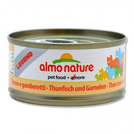 Terrine pour Chat Almo Nature Legend Thon & Crevettes lot de 6