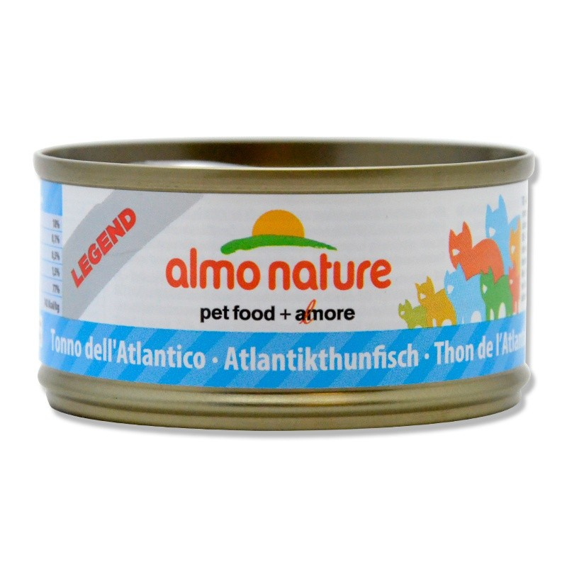 Terrine pour Chat Almo Nature Legend Thon de l'Atlantique lot de 6 ALMO NATURE 8001154007527 Boîtes, sachets pour chats