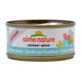 Terrine pour Chat Almo Nature Legend Truite & Thon lot de 6 ALMO NATURE 8001154120066 Boîtes, sachets pour chats
