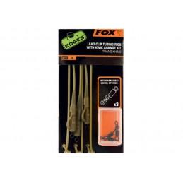 Montage Gainée Fox FOX 5055350250167 Petit matériel carpe