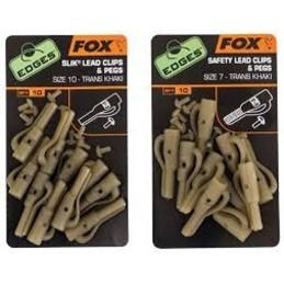 Clips Plomb Fox FOX  Petit matériel carpe