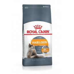 Croquettes Royal Canin Care Hair & Skin ROYAL CANIN  Croquettes Royal Canin