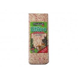 Litière Vitakraft parfumée fruits des bois 20 L VITAKRAFT VITOBEL 3023615320407 Litière, foin, paille
