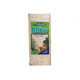 Litière Vitakraft parfumée fruits des bois 20 L