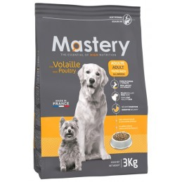 Croquettes Mastery Adulte Volaille 3 kg FRANCODEX 3336024822005 Croquettes Mastery