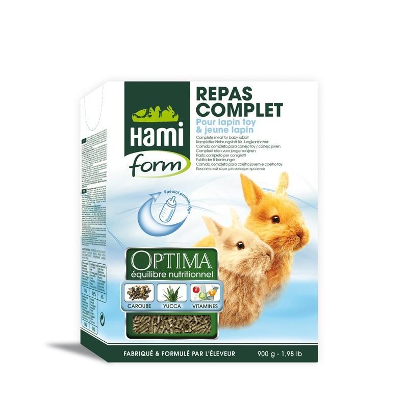 HamiForm Repas complet jeune lapin 900 g HAMI 3469980000061 Alimentation