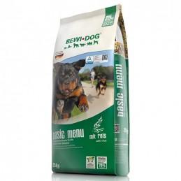 Croquettes Menu Basic BewiDog 25 kg BEWI DOG 4002633509437 Croquettes Bewi Dog
