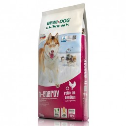 Croquettes H-Energy BewiDog 25 kg BEWI DOG 4002633509833 Croquettes Bewi Dog