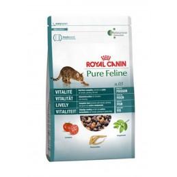 Croquettes Royal Canin Pure Feline Vitalite ROYAL CANIN  Croquettes Royal Canin