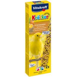 Vitakraft Kräcker Canaris oeuf & graines de graminées VITAKRAFT VITOBEL 4008239212658 Canaris