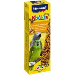 Vitakraft Kräcker Perroquets Amandes & Fruits tropicaux VITAKRAFT VITOBEL 4008239212962 Grande Perruche, Perroquet