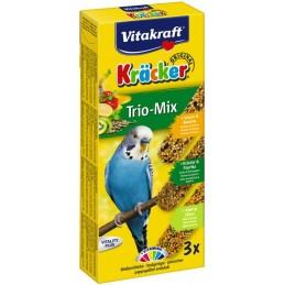 Vitakraft Kräcker Perruches Trio Mix VITAKRAFT VITOBEL 4008239212375 Perruche