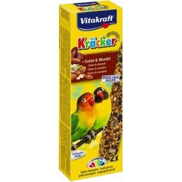 Vitakraft Kräcker petits perroquets Dattes & Amandes VITAKRAFT VITOBEL 4008239212832 Grande Perruche, Perroquet