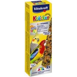 Vitakraft Kräcker Grandes Perruches Multi-vitamines VITAKRAFT VITOBEL 4008239291318 Grande Perruche, Perroquet