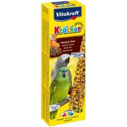 Vitakraft Kräcker Perroquets Miel & Anis VITAKRAFT VITOBEL 4008239212870 Grande Perruche, Perroquet