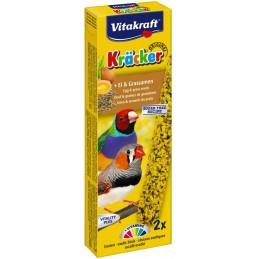 Vitakraft Kräcker Exotiques oeuf & graines de graminées VITAKRAFT VITOBEL 4008239212580 Oiseaux Exotiques