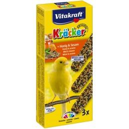 Vitakraft Kräcker Canaris au miel & sésame x3