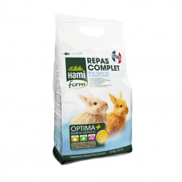 Hami Form Repas complet jeune lapin 2.5 kg HAMI 3469980005257 Alimentation