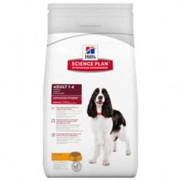 Hill's Canine Adult Medium Poulet Advanced Fitness 12 kg HILL'S 052742327600 Croquettes Hill's
