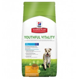 Hill's Adult 7+ Mini Youthful Vitality Poulet & Riz 2.5 kg HILL'S 052742015767 Croquettes Hill's