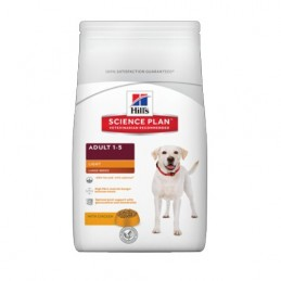 Hill's Canine Adult Light Large Breed 18 kg HILL'S 052742296005 Croquettes Hill's