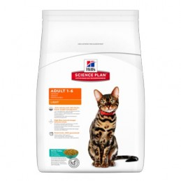 Hill's Feline Adult Light Thon 5 kg HILL'S 52742718804 Croquettes Hill's