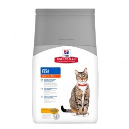 Hill's Feline Adult Poulet Oral Care 1,5 kg HILL'S 052742752204 Croquettes Hill's