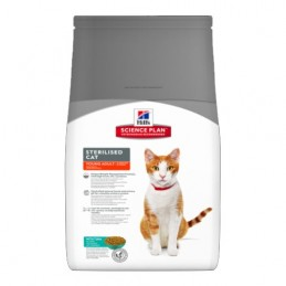 Hill's Feline Thon Sterilised Young Adult 8 kg HILL'S 052742004785 Croquettes Hill's