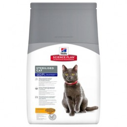Hill's Feline Sterilised Mature Adult 3.5 kg HILL'S 052742935607 Croquettes Hill's