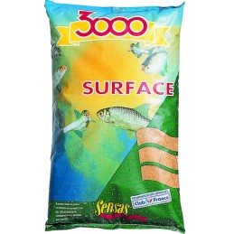 Amorce sensas 3000 surface 1kg SENSAS 3297830007218 Appâts, Amorces
