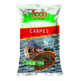 Amorce sensas 3000 club carpes 1kg SENSAS 3297830108618 Appâts, Amorces