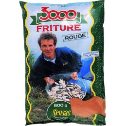 Amorce sensas 3000 friture rouge 800g SENSAS 3297830038717 Appâts, Amorces